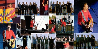 Live in Red Square, Russia, Moscow. May 24, 2003 (2DVD set): gatefold inside